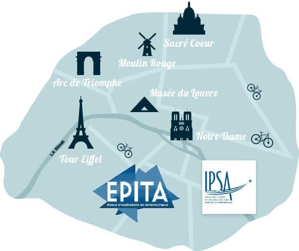 Carte Epita IPSA